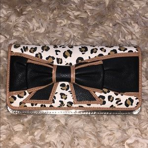 Betsey Johnson Gold Wallet